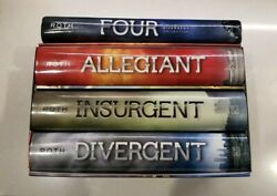 The Divergent Series And Four Veronica Roth Hardcover Set Of 4 And Bonus Booklet
