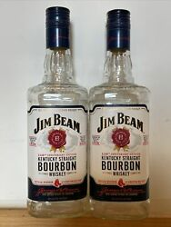 2 110th Anniversary Boston Red Sox Jim Beam Whiskey Bottles Limited Edition 2018