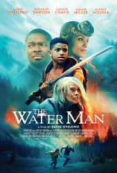 The Water Man 2021 D/s Orig Movie Poster 2-sided 27x40 Rosario Oyelowo New