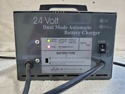 Lester 18330 24 Volt Dual Mode Automatic Wheel Chair Battery Charger