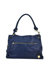 Vince Camuto Women Purses And Handbags Category Shoulder Bags Blue Leather
