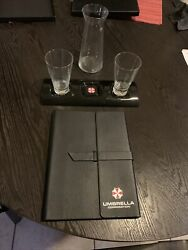 Resident Evil The Final Chapter Umbrella Corp Board Meeting Movie Props