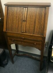 Rare Antique Wooden Optical Lens Cabinet With Trial Lens Set- A Collector's Item