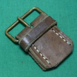Swedish Mauser M94 Leather Sling Buckle Nos
