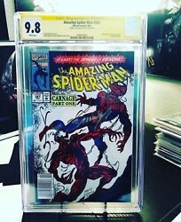Rare Amazing Spiderman 361 Cgc 9.8 Wp Newstand Ss By Mark Bagley
