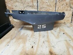 1977 Marince Outboard Motor 25hp 2 Stroke Lower Engine Cowling With Hood Latch