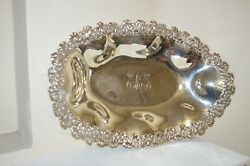 Loring Andrews And Co 925 Sterling Silver Oval Serving Bowl S4-039