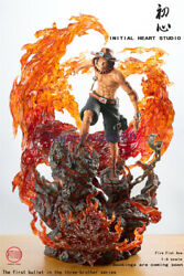 Initial Studio One Piece Portgas D Ace Gk Collector Led Resin Statue Pre-order