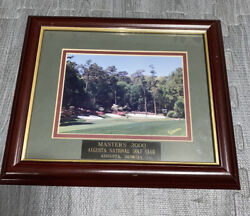 Vintage 2000 Masters Augusta National Golf Club 13th Hole Picture Framed