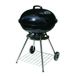 22 Black Charcoal Ash Catcher Air Damper Mobile Kettle Grill Outdoor Barbecue