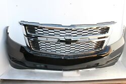 2015-2020 Chevy Tahoe Suburban Front Bumper Asm W/tow Black Oem