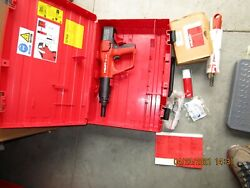 Hilti Powder-actuated Dx A41 With X-am72 And X-af-8l Two Attachment Kit New 1015