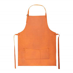 Yayas Light Brown Leather Apron - Full Of Style And Elegance - Ideal For Bbq And