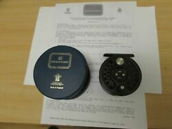 A1 Stunning Hardy Sovereign 2000 No. 5 Trout Fly Fishing Reel + Case Etc
