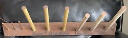 Aladdin Oil Lamp Chimney And Parts Display For Hardware Store Or Otherwise 1930s