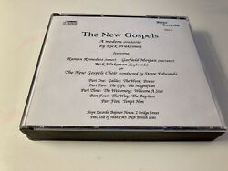 Cd Double Album Rick Wakeman- The New Gospels Rare Edition