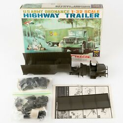 Us Army Ordnance Highway Trailer Model Kit By Tetra 132