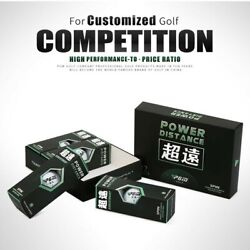 Auxiliary Golf Ball Ball Professional Putter 12pcs/box Practical Useful