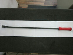 Snap-on Spbs36a 36 Red Handle Striking Pry Bar Tool