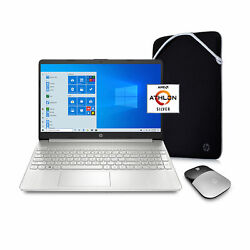 New Hp 15.6 Hd 4gb Ram 128gb Ssd Win10 S With 1yr Office 365 +mouse + Sleeve