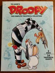 Tex Avery#x27;s Droopy: The Complete Theatrical Collection DVD 2007 2 Disc Set