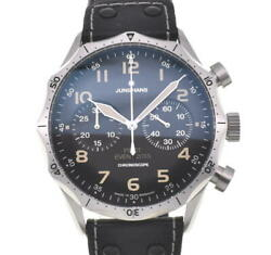 Junghans Master Pilot 027/3593.00 Chronograph Automatic Menand039s Watch M103808