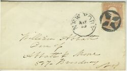 Civil War Cover Addressed By Vice Admiral David Glasgow Farragut May1865