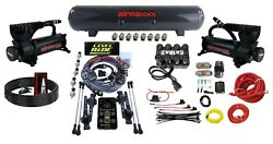 Level Ride Height + Pressure Airmaxxx Black 580 Air Management Kit Complete Wire