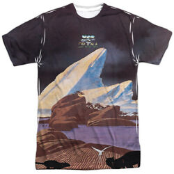 Yes Band Drama 1980 Album Cover Sublimation Licensed Adult T-shirt