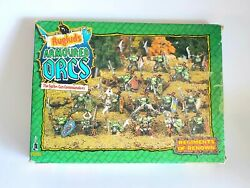 1988 Warhammer Rugludand039s Armoured Orcs Includes All Pieces And Box See Descrip