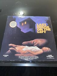 Last House On The Left Laserdisc Complete And Uncut Horror Extended Play Vl5096