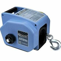 Electric Winch Reversible Portable 12-volt Dc Electric Winch Boat Trailer Truck
