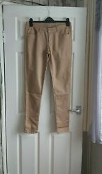 Denim Co Mocha Super Skinny Jeans Size 12 Used Excellent Condition