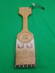 Ultimate Cleaning Wood Paddle Bbq Grill Cleaner Scraping Tool