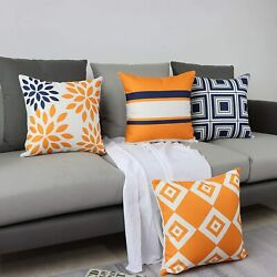 Maliton Pillow Covers 18x18 Decorative Couch Pillows Throw Pillow Covers for L