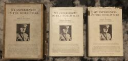 General John Pershing Signed Andldquomy Experiences In The World Warandrdquo