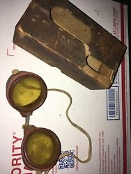 Vintage Safety First Torch Glasses Pittsburgh