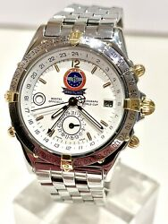 Breitling Duograph World Cup Aerobatics Limited Edition Watch 1000 Examples