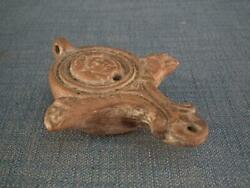 Authentic Ancient Imperial Roman Terracotta Oil Lamp 1st-early 2nd Century A.d.
