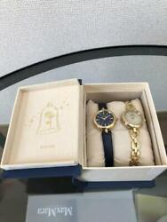 [brand New] Disney Beauty And The Beast Pair Watch Wicca/limited To 2000/japan