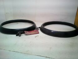 1941 Ford Truck And 1941-47 Ford Cab Over Engine Pair Of Headlamp Doors 11t13043b
