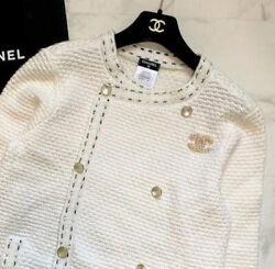 Cotton Knit Pearl Cardigan 2016 Spring Summer Collection Black Stitches