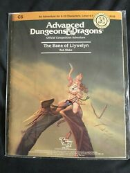Rare And Nm- C5 The Bane Of Llywelyn 1985 Dungeons And Dragons 1st Edition Module