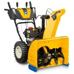 2x 26 In. 243 Cc Two-stage Gas Snow Blower With Electric Start Power Steering