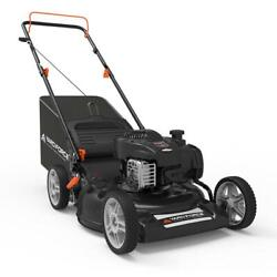 21 In. 140cc Briggs And Stratton 550e Engine 3-in-1 Gas Walk Behind Lawn Mower