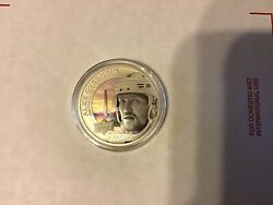 2017 Upper Deck Grandeur Alex Ovechkin 1 Troy Ounce Silver Coin /5000 Capitals