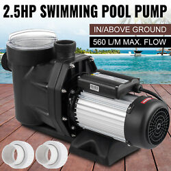 Generic 2.5hp In/above Ground Swimming Pool Sand Filter Pump Motor Strainer Us