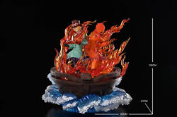 Sh Studio One Piece Portgas D Ace Sabo Gk Collector Led Resin Statue Pre-order