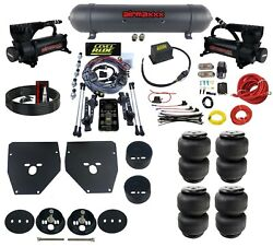 Complete 3 Preset Height Pressure Level Ride Air Suspension Kit For 1963-72 C10