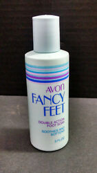 Nos Vintage Avon Fancy Feet Double Action Foot Soak 3 Ounces Soothes/softens